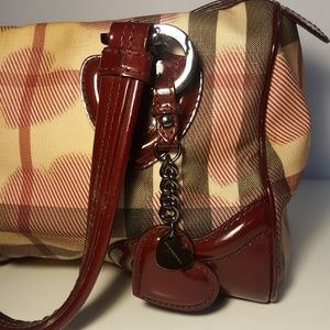 Burberry Bags - Burberry limited Edition Nova check bag + keychain
